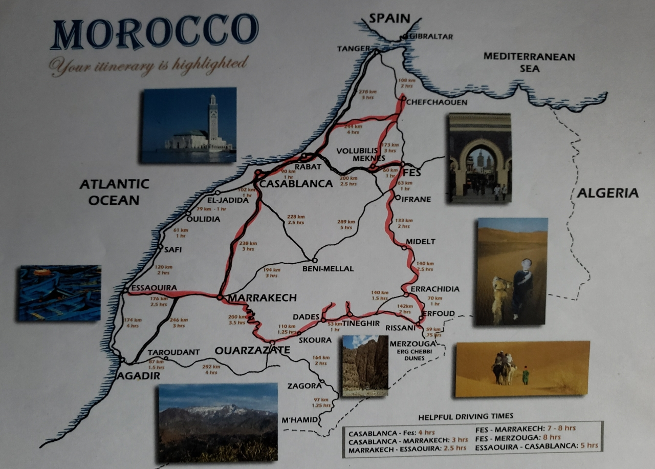 Path of Morocco